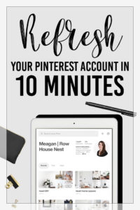 Pinterest for Business: Follow these 4 tips to start getting more traffic to your website. Grow your blog, email list, or business with Pinterest. Simple tips from Pinterest Influencer and Consultant www.meaganwilliamson.com