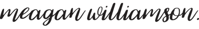 Meagan Williamson Logo