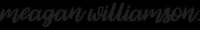 Meagan Williamson Logo