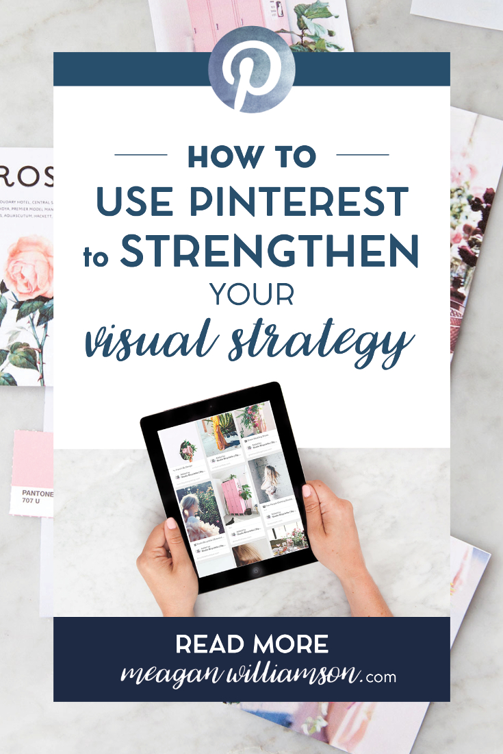5 eays to brand your Pinterest account and strengthen your brands visual story - includes a free workbook!