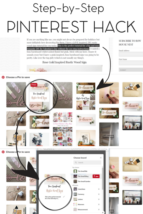 This Pinterest Hack Is Going To Save You TIME – Meagan Williamson