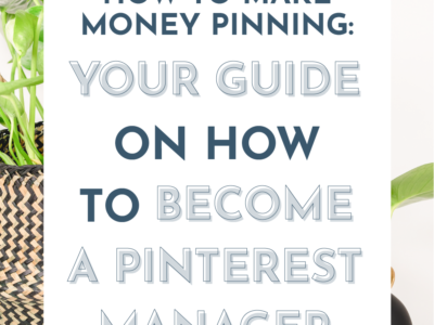 text how to make money pinning - text overlay on stock image